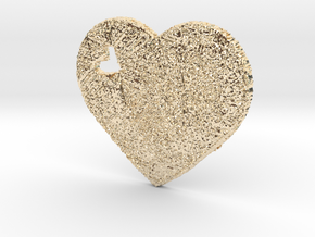 Love Heart 3D in 14K Gold