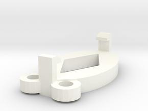amuletclip in White Processed Versatile Plastic