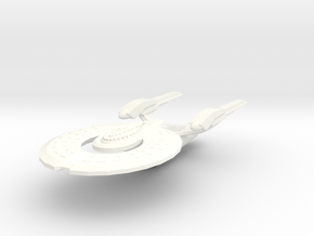 Hayes Class Cruiser in White Strong & Flexible Polished