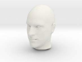 My Awesome Model in White Natural Versatile Plastic