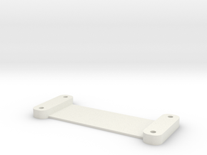DSLR_hdmi_plate in White Natural Versatile Plastic