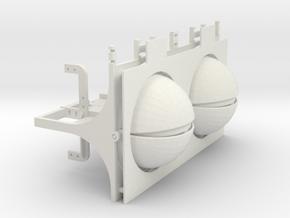 MECHANICAL EYES in White Natural Versatile Plastic