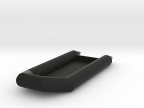 Zodiac Boat 1:100 in Black Natural Versatile Plastic