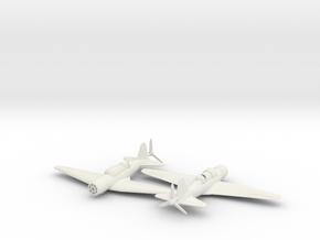 1/200 Sukhoi Su-2 in White Natural Versatile Plastic