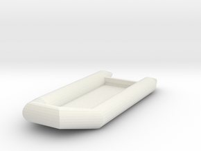 Zodiac Boat 1:100 (type 3) in White Natural Versatile Plastic