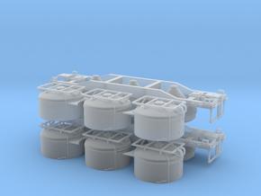 HWCX Cement Hopper (2) in Smooth Fine Detail Plastic