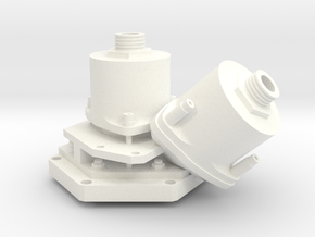 Apollo RCS Engine 1:1 Head in White Processed Versatile Plastic