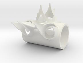 Tretlagermuffe in White Natural Versatile Plastic