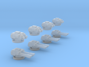 6mm APC Turret Set in Smooth Fine Detail Plastic