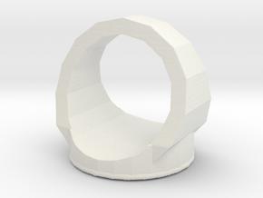 Wind in White Natural Versatile Plastic