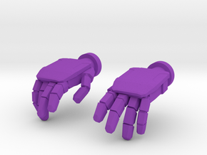 b_hand in Purple Strong & Flexible Polished