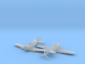 1/200 CAC Boomerang x2 in Smooth Fine Detail Plastic