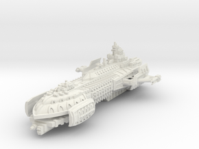BFG Heresy Barge in White Natural Versatile Plastic
