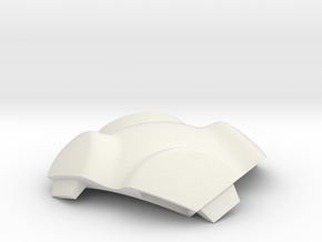 NSphere Micro (tile type:6) in White Natural Versatile Plastic