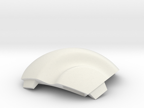 NSphere Micro (tile type:1) in White Natural Versatile Plastic