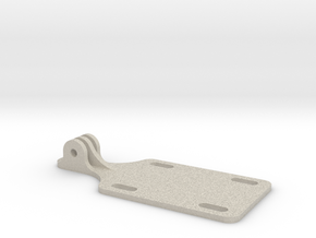 GOPRO SKATEBOARD RISER MOUNT in Natural Sandstone