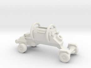 1:144 LEOPARD Security Vehicle in White Natural Versatile Plastic
