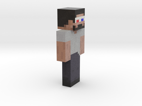 6cm | CubyCraft in Full Color Sandstone