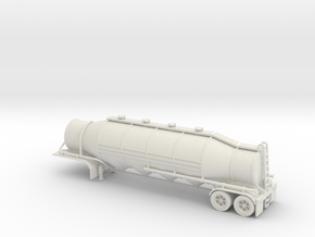 HO 1/87 Dry Bulk Trailer 03 in White Strong & Flexible