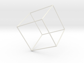 Cubo1 in White Strong & Flexible