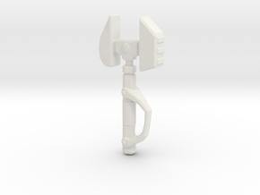 Minifigure Omniwrench in White Natural Versatile Plastic