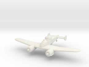 1/100 Bristol F.11/37 (wheels optional) in White Natural Versatile Plastic