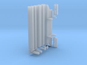 Heckabstützung für LKW-Ladekrane in Smooth Fine Detail Plastic
