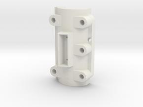 Climax F220 CrossBox Top Cap - 1-8th Scale in White Natural Versatile Plastic
