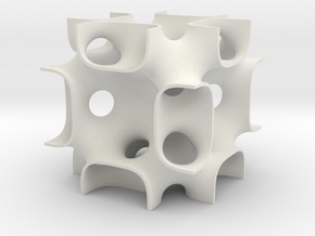FRDsolid14 in White Natural Versatile Plastic