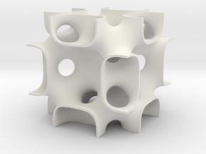 FRDsolid14 in White Natural Versatile Plastic