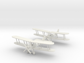"RAF B.E.2c ""Wingman"" 1:144th Scale in White Natural Versatile Plastic"