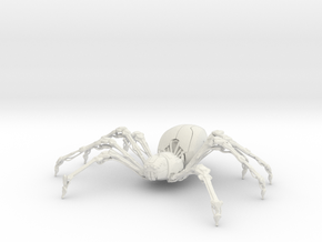 SpiderBot from Blender Master Class in White Natural Versatile Plastic