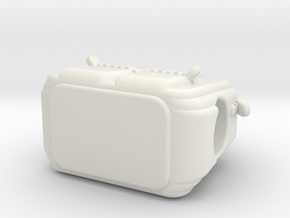 Purse in White Natural Versatile Plastic