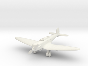 Heinkel He 70E Blitz (with Landing gear) 1/285 6mm in White Strong & Flexible