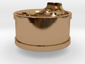 SmashSilver in Polished Brass