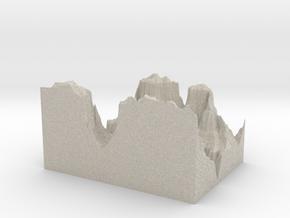 Model of Colorado River in Natural Sandstone
