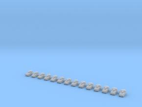 1/700 FV107 Scimitar (x14) in Smooth Fine Detail Plastic