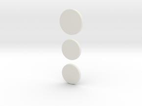 Neuralyzer: Dials in White Natural Versatile Plastic