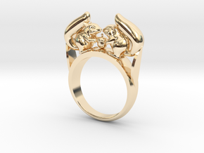 Squirrel Ring in 14K Yellow Gold