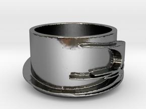 Fireline in Fine Detail Polished Silver
