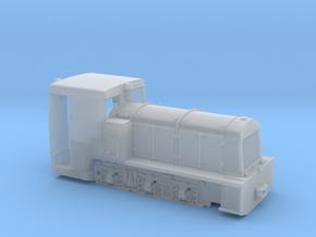 Französische Feldbahnlok Billard T100 1:35 in Smooth Fine Detail Plastic