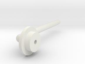 BMGimbal I2c Cap in White Natural Versatile Plastic