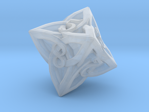 Celtic D8 - Solid Centre for Plastic in Smooth Fine Detail Plastic