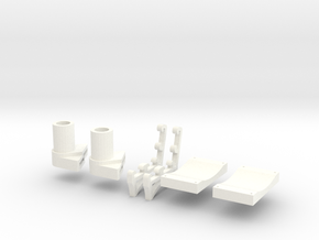 Popsicle Park in White Strong & Flexible Polished