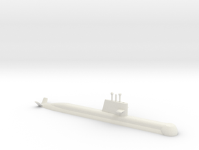 1/700 Collins Class Submarine (Waterline) in White Strong & Flexible