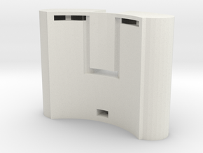 Cascade-battery 5 in White Natural Versatile Plastic
