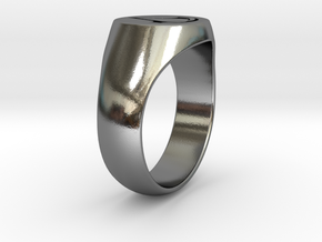 Assassin's Creed Ring 02 US11 in Polished Silver