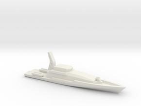 Armidale 1/1800 in White Natural Versatile Plastic