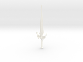 Spelean Sword in White Processed Versatile Plastic