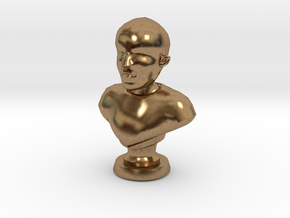 ShapeMe in Natural Brass